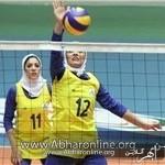 """دختران والیبالیست """"سما"""" واحد بناب قهرمان کشور شدند"""