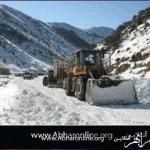 راه ارتباطی 61 روستای زنجان همچنان مسدود است