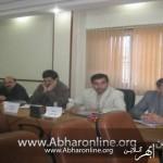 امیرلو شهردار خرمدره در نشست خبری با خبرنگاران : بدهی شهرداری خرمدره 4 میلیارد 200 میلیون تومان است