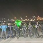 """برگزاری تور دوچرخه سواری دانشجویان ایرانی در جمهوری آذربایجان با شعار """"  تندرستی و مبارزه با بیماری های خاص"""