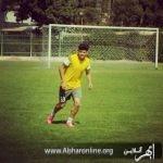 بازیکن خوش اخلاق فوتبال مسعود کیومرثی