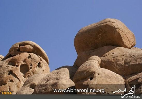 رد پای جن و پری در زنجان! +عکس